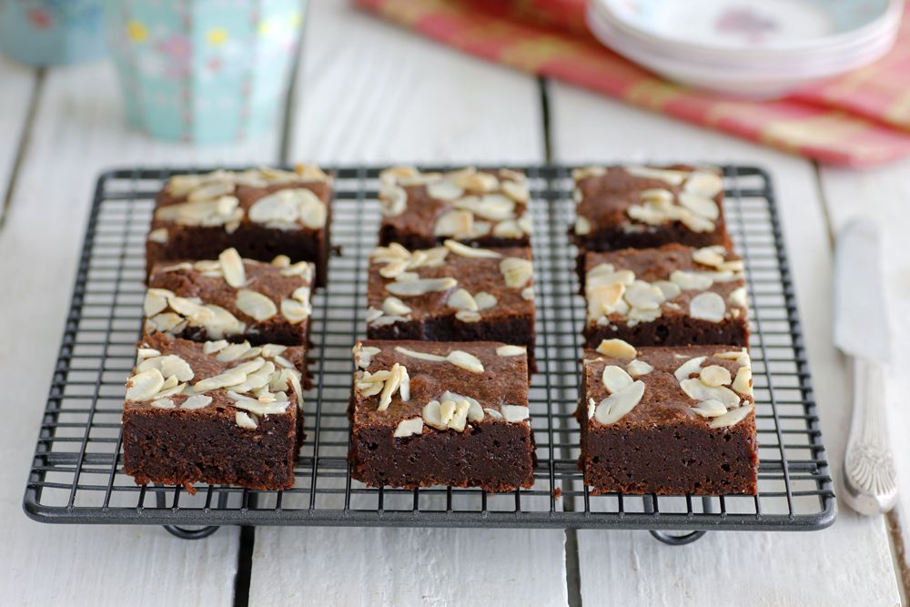 Gluten Free Almond Chocolate Brownies