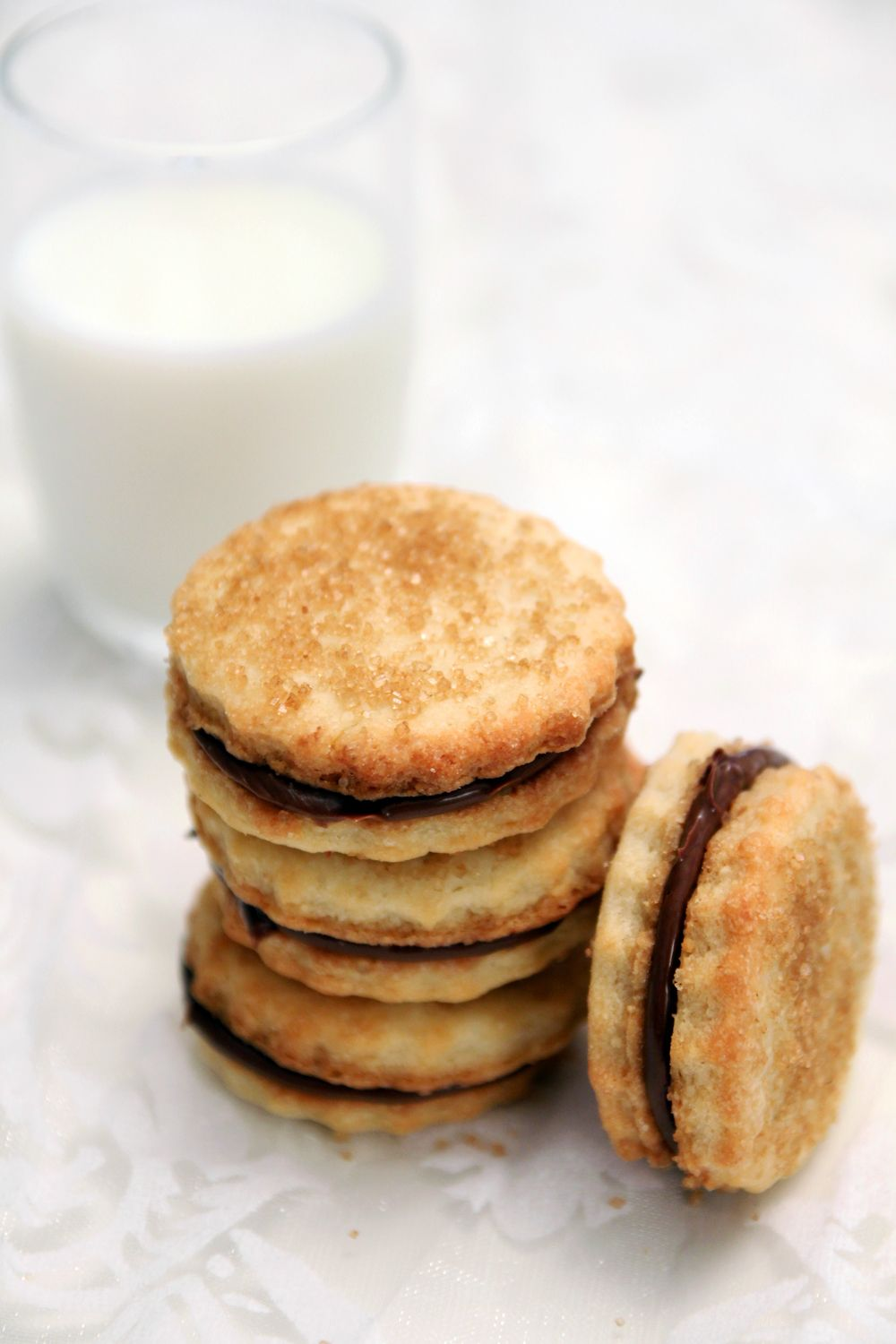 ... cookies there is. These sandwich cookies combine almond and chocolate