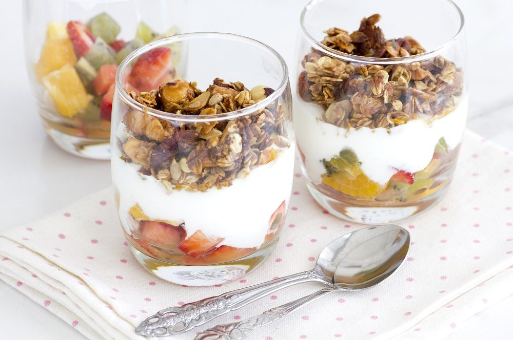 Homemade Granola with Maple and Pecans