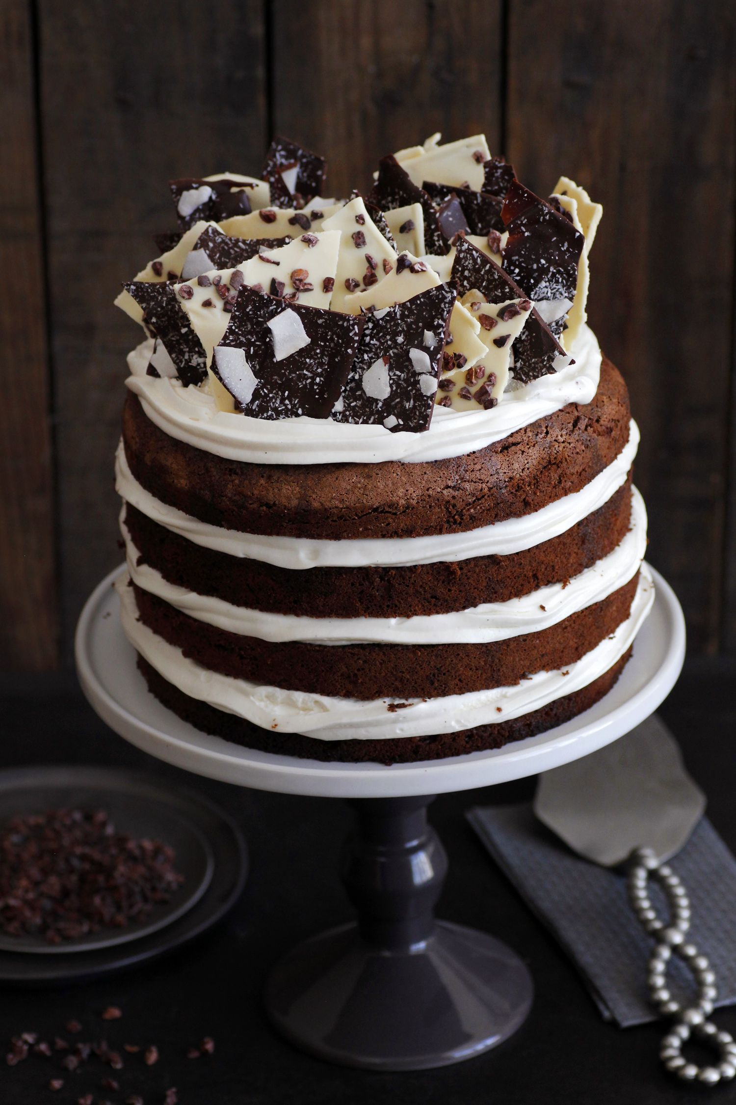 8 layers chocolate cake