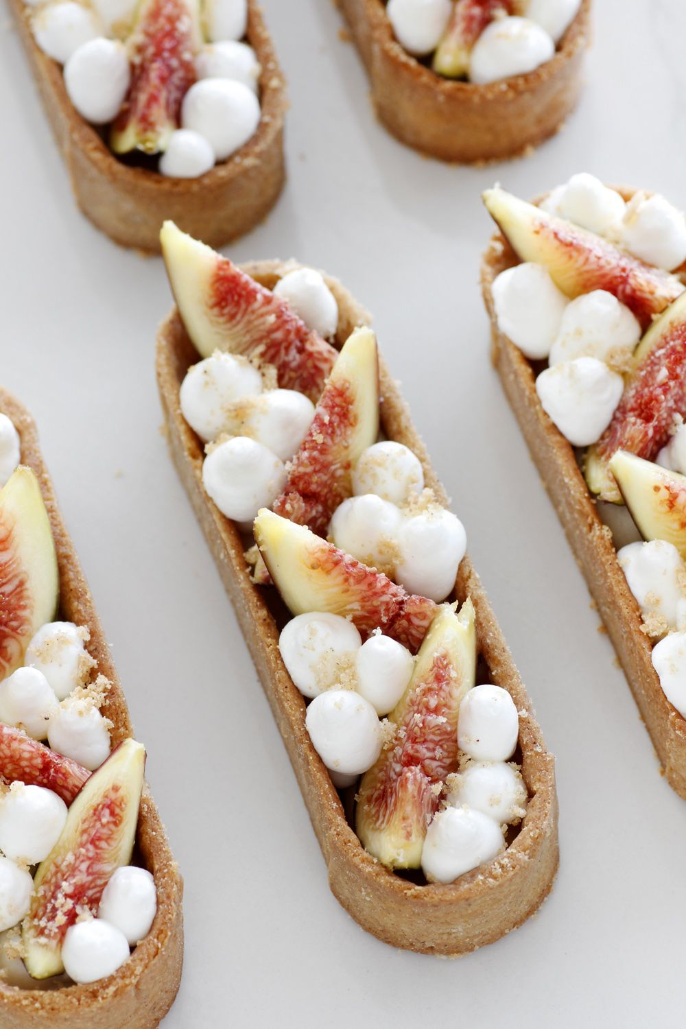 Fig, Maple and White Chocolate Tartelettes