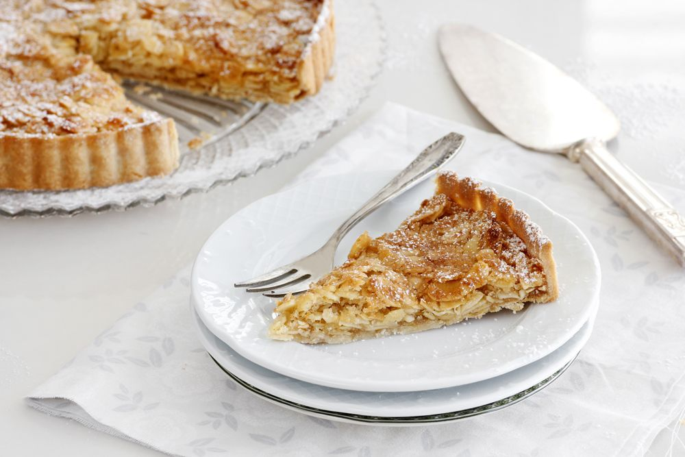 Coconut Almond Pie with Honey