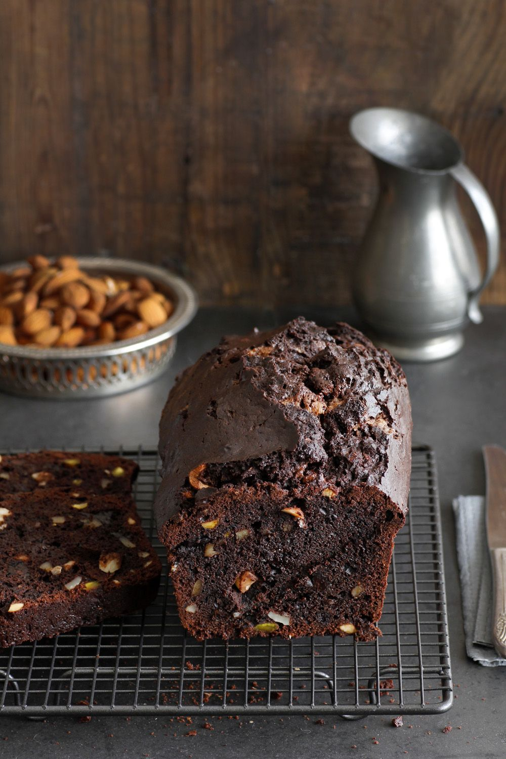 Pierre Herme's Chocolate Cake with Nuts
