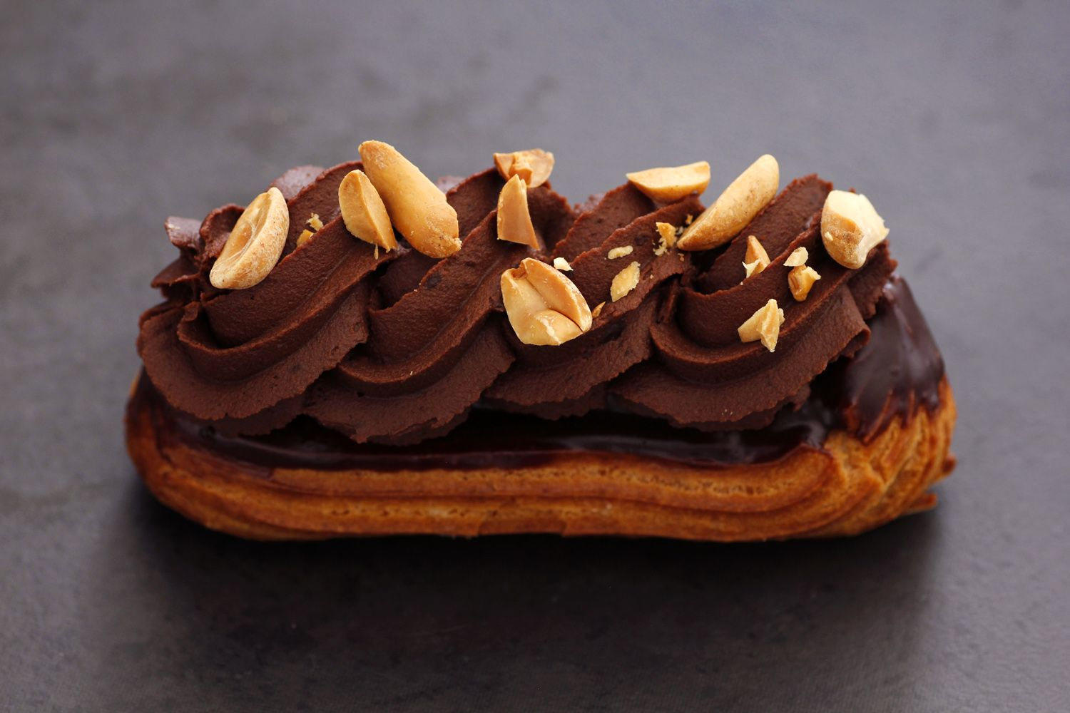 Peanut Butter Chocolate Eclairs