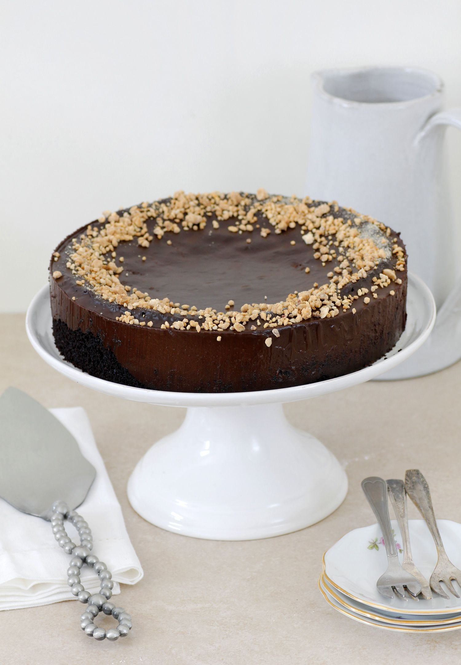 Chocolate, Almond and Olive Oil Cake