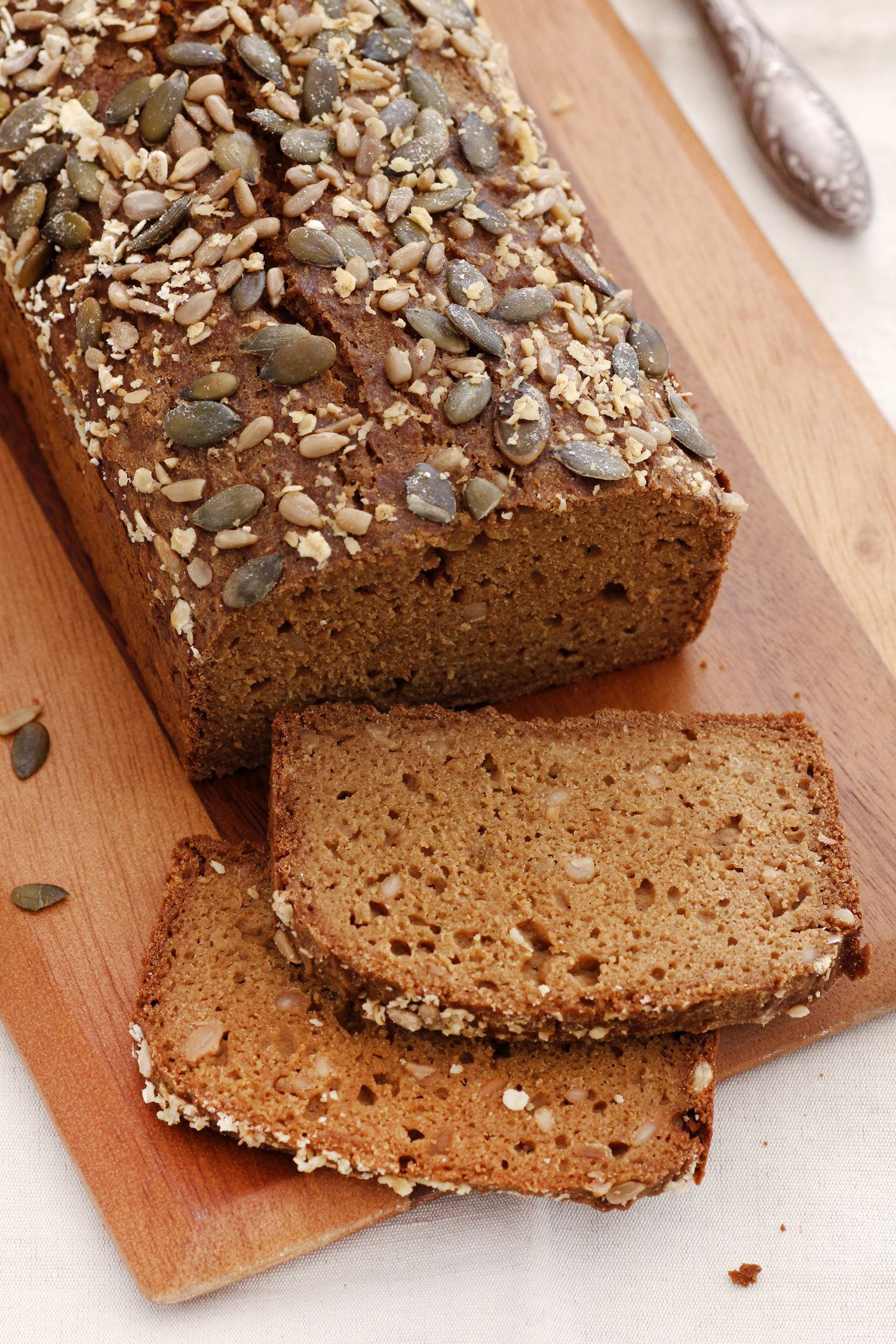 Teff and Oatmeal Bread