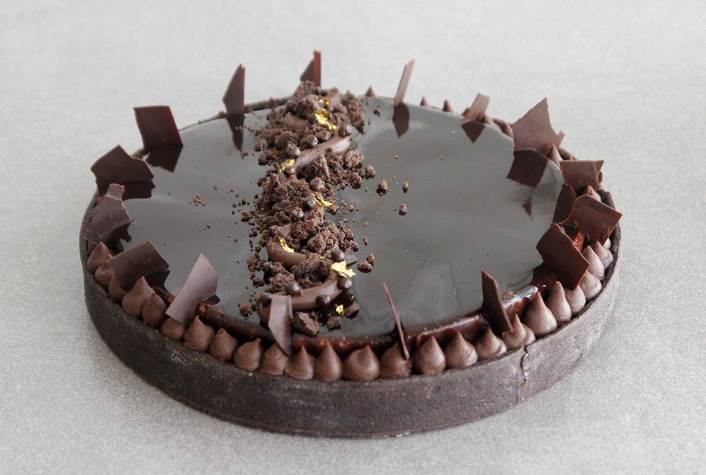 The Ultimate Chocolate Tart