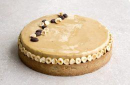 טארט קפה, אגוזי לוז ותבלינים   צילום: נטלי לוין