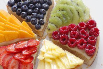 טארט פירות מודרני | צילום: נטלי לוין