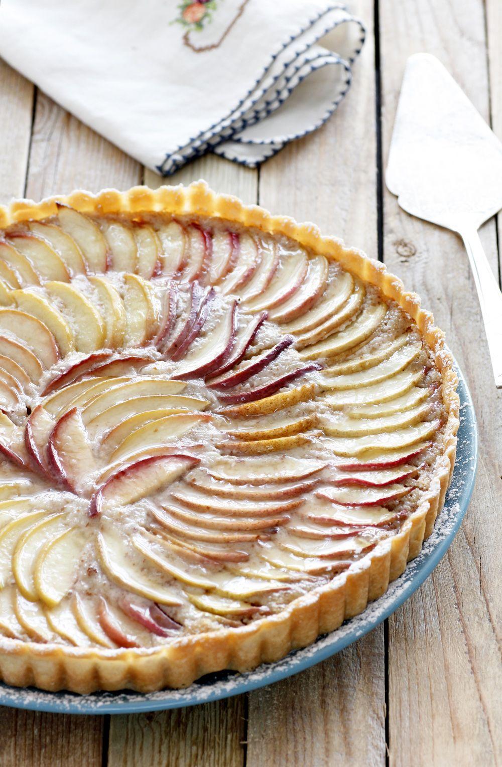 Peach and Almond Pie