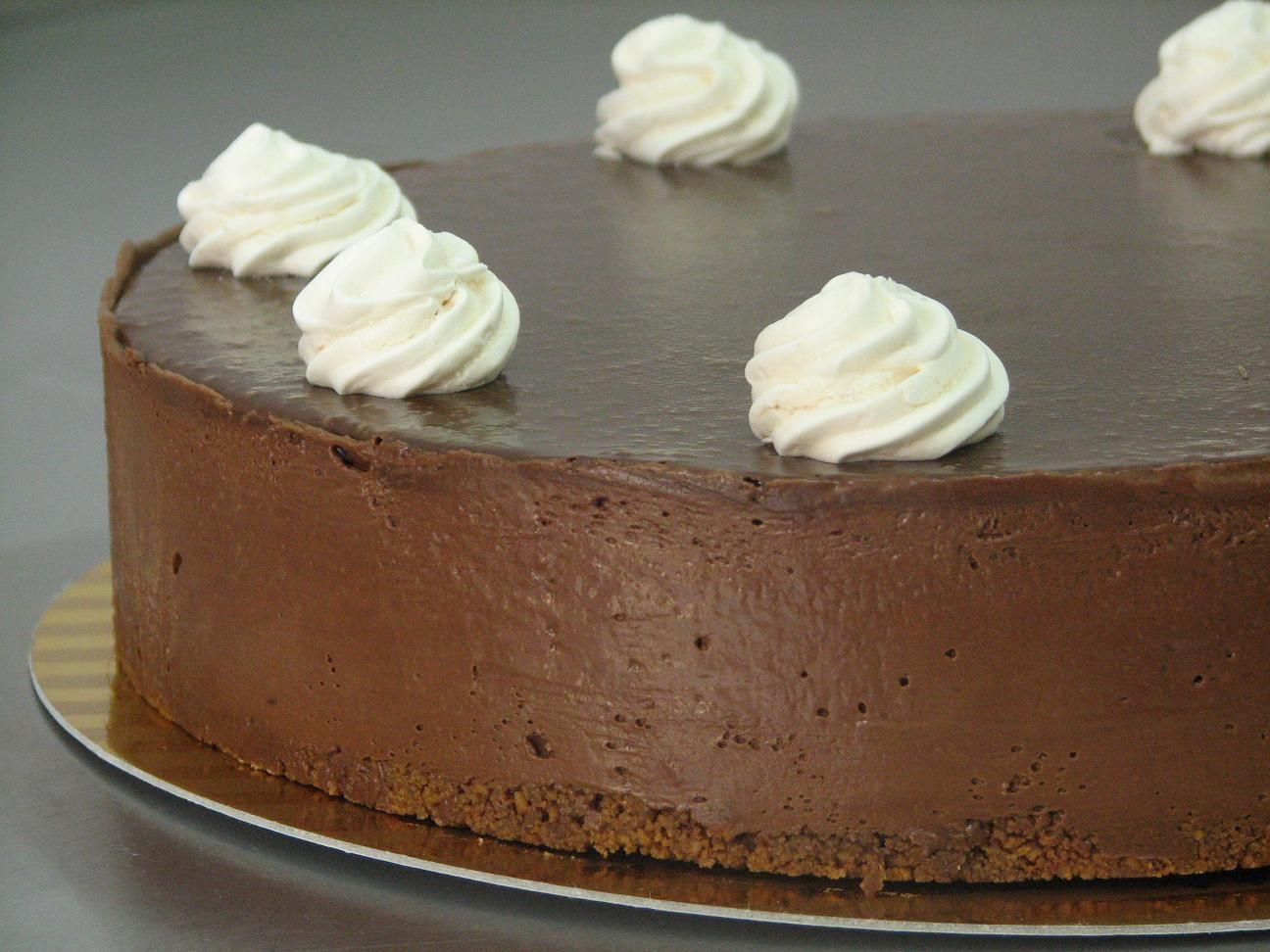 Chocolate Mousse Cake with Meringue