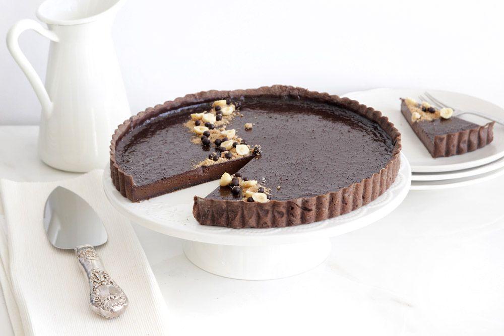 Praline Chocolate Tart