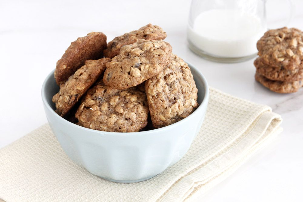 Oatmeal Cookie with Cranberries and Almonds