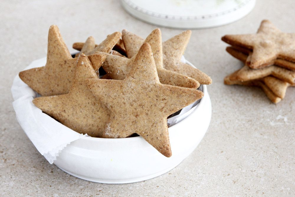 Star-Shaped Gingerbread Cookies
