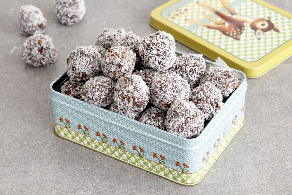 Coffee and Irish Cream Chocolate Snowballs