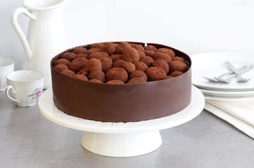 Chocolate Truffles Cake