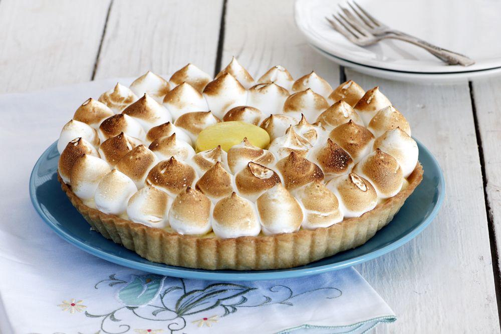 Minty Lemon Meringue Pie