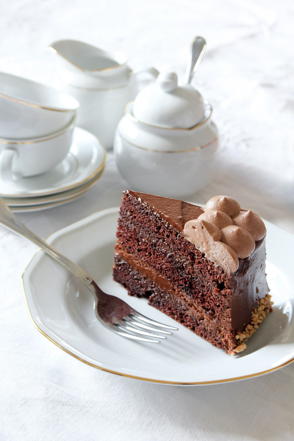 Caramel Hazelnut Chocolate Cake