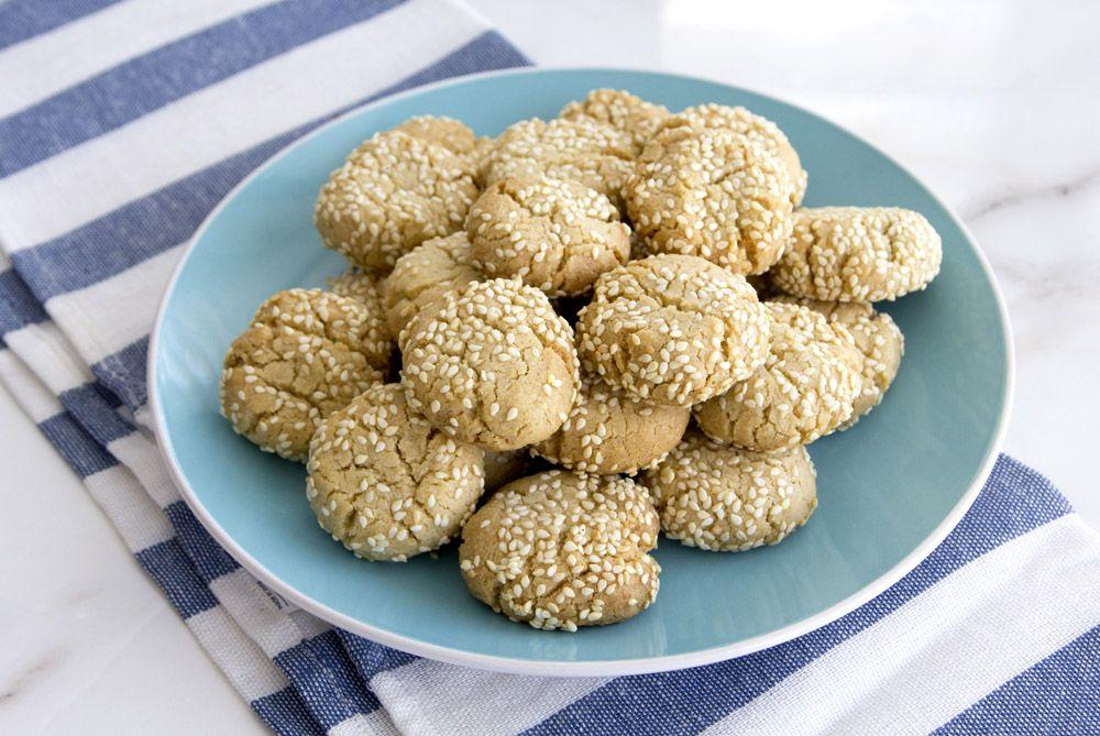 Almond Tahini Cookies
