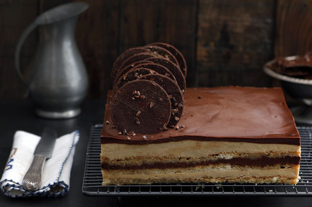 Gluten Free Opera Cake