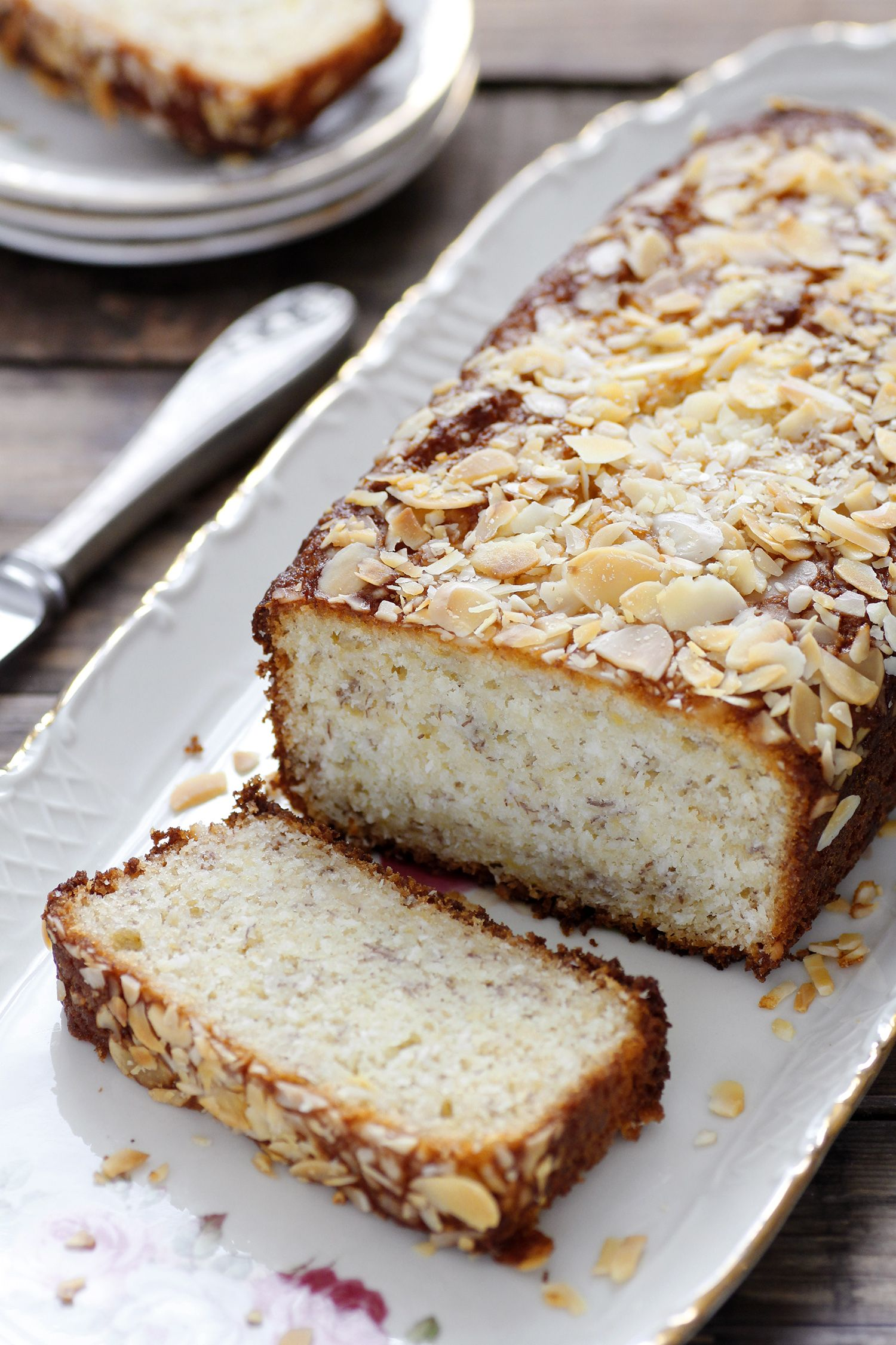 Banana Bread with Rum and Coconut