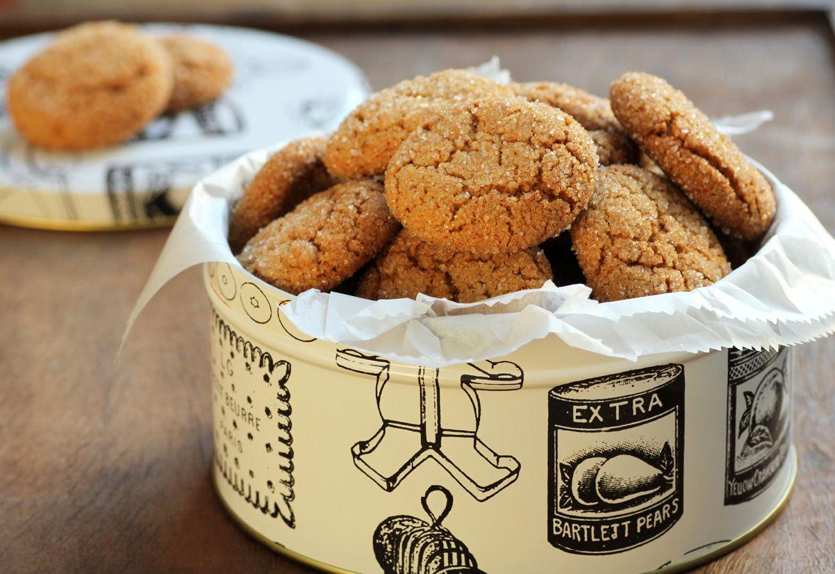 Gingerbread Orange Cookies