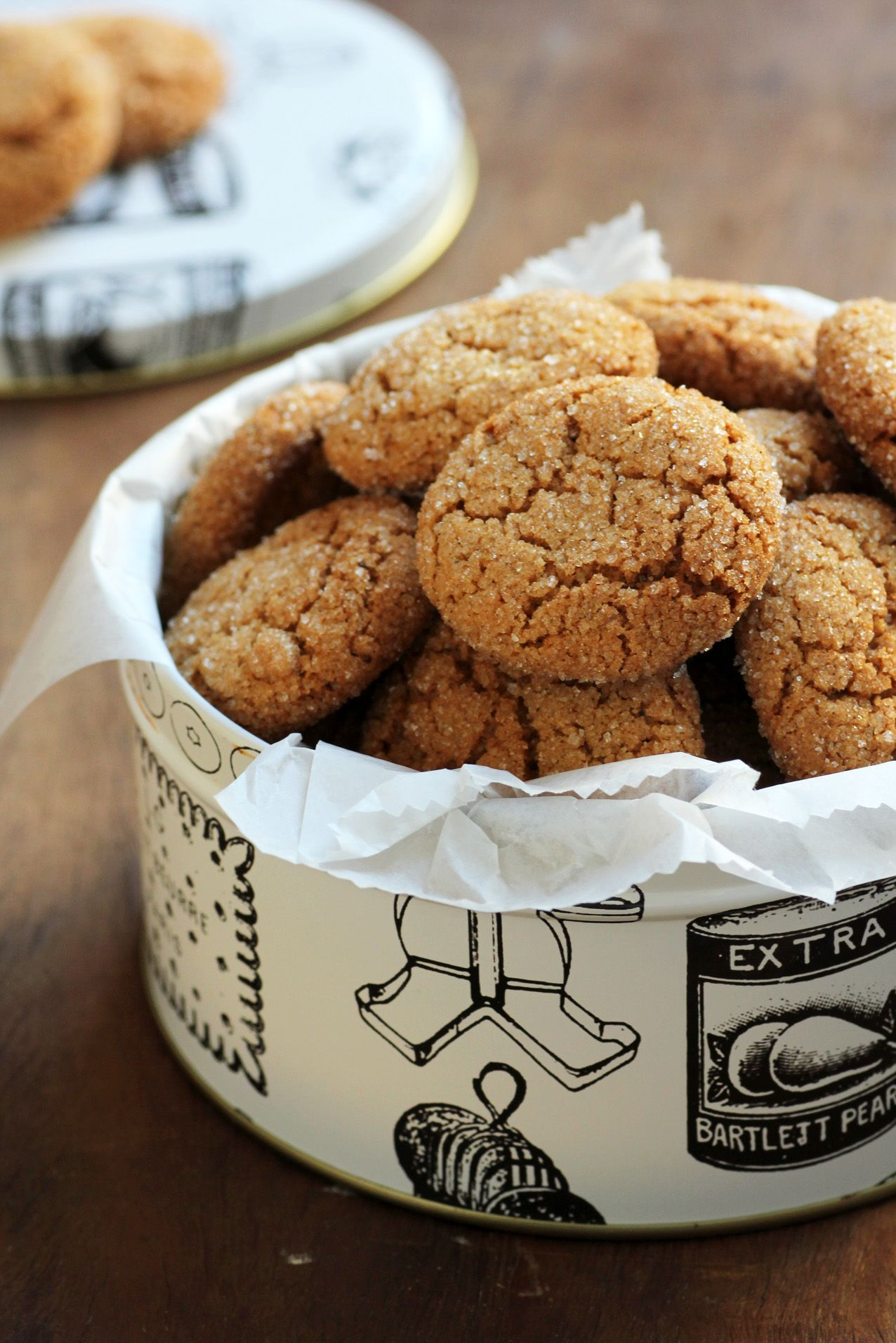 Orange Gingerbread Cookies