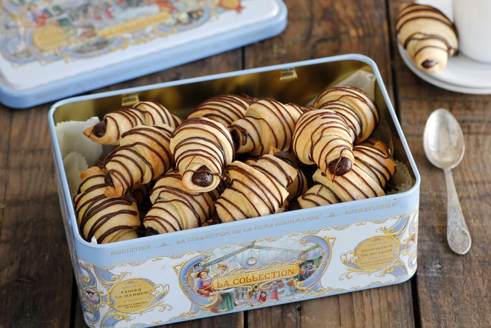 Chocolate Rugelach Cookies