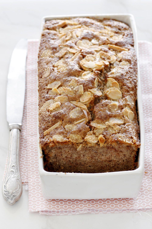 Cinnamon Walnut Cake with Honey