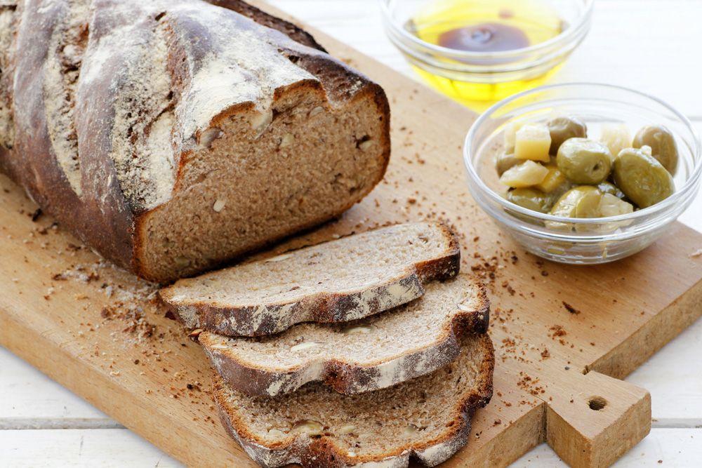 Chestnut and Hazelnut Bread