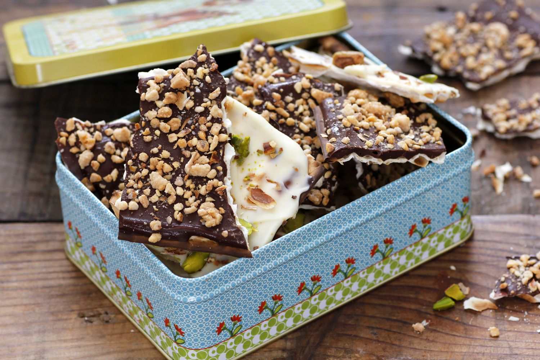 Matzo Chocolate Bark