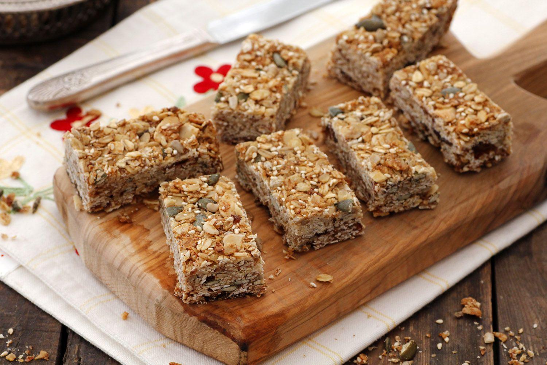 Almond and Honey Granola Bars
