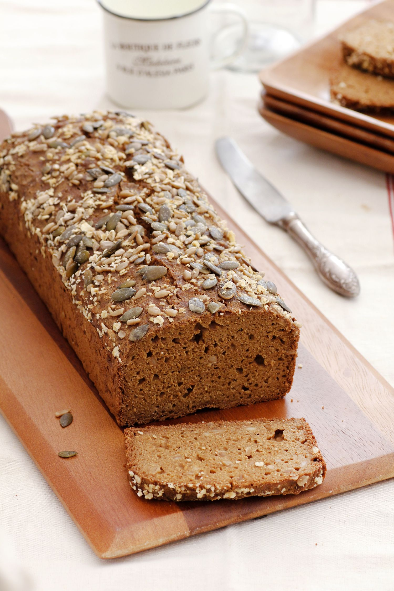 Teff and Oatmeal Bread
