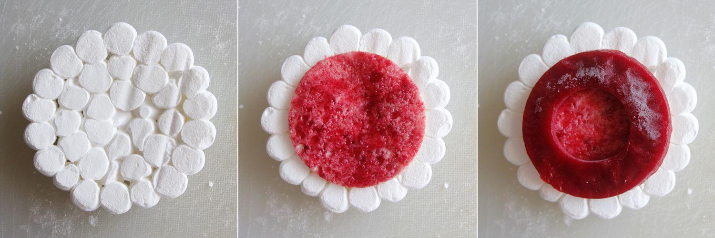 Raspberry Pavlova with Vanilla and Pistachio