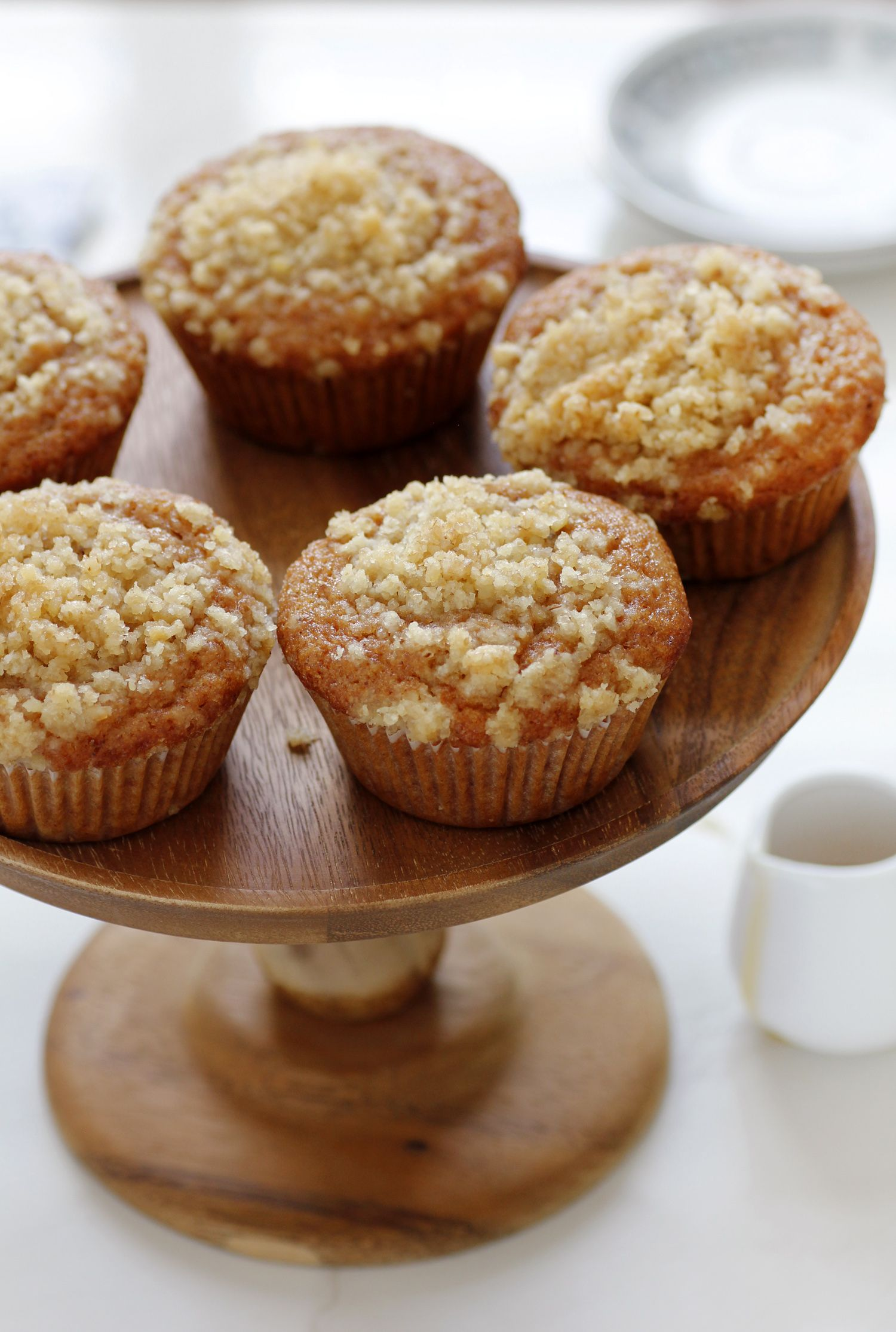 Honey Muffins with Streusel