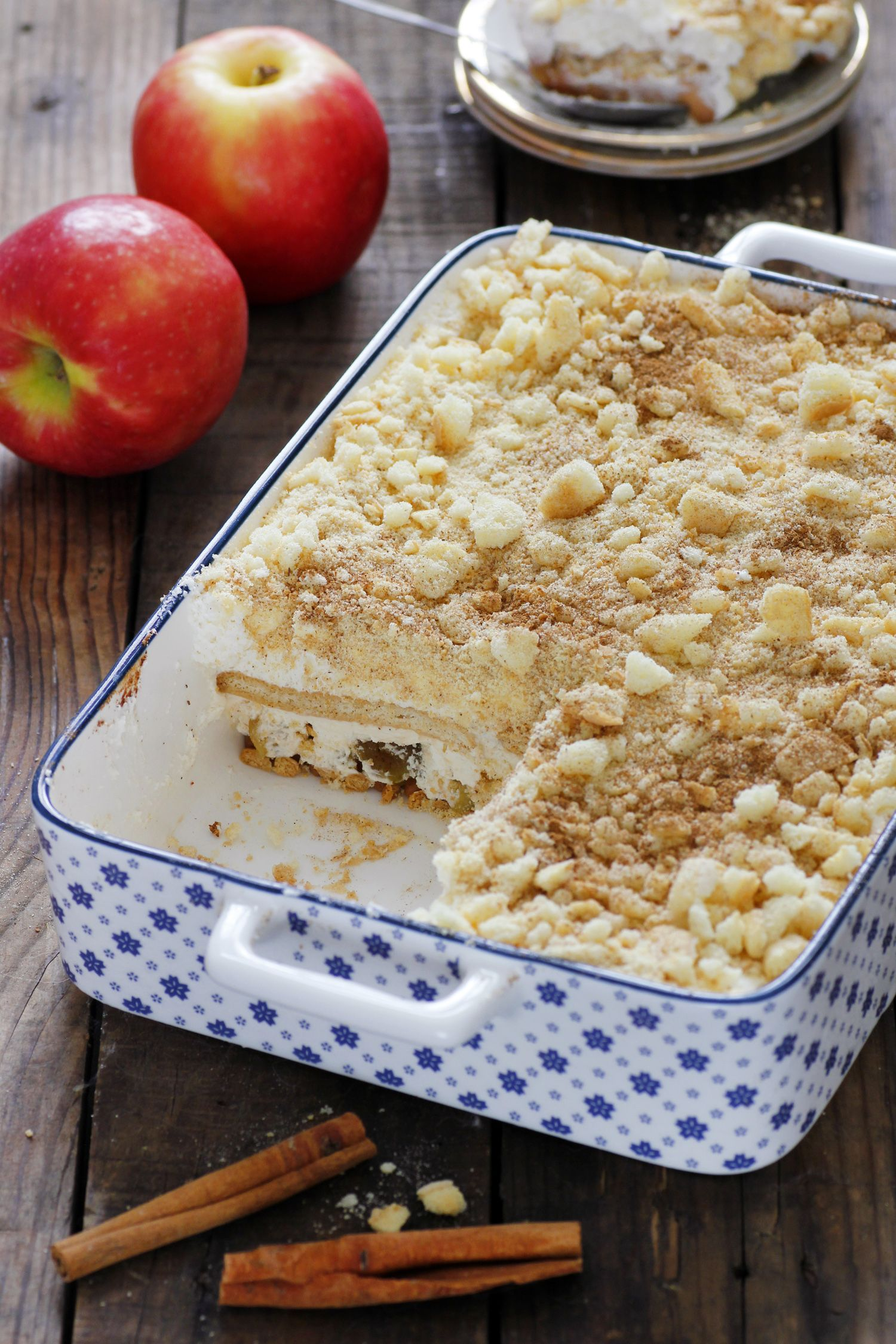 Caramel Apple Icebox Cake