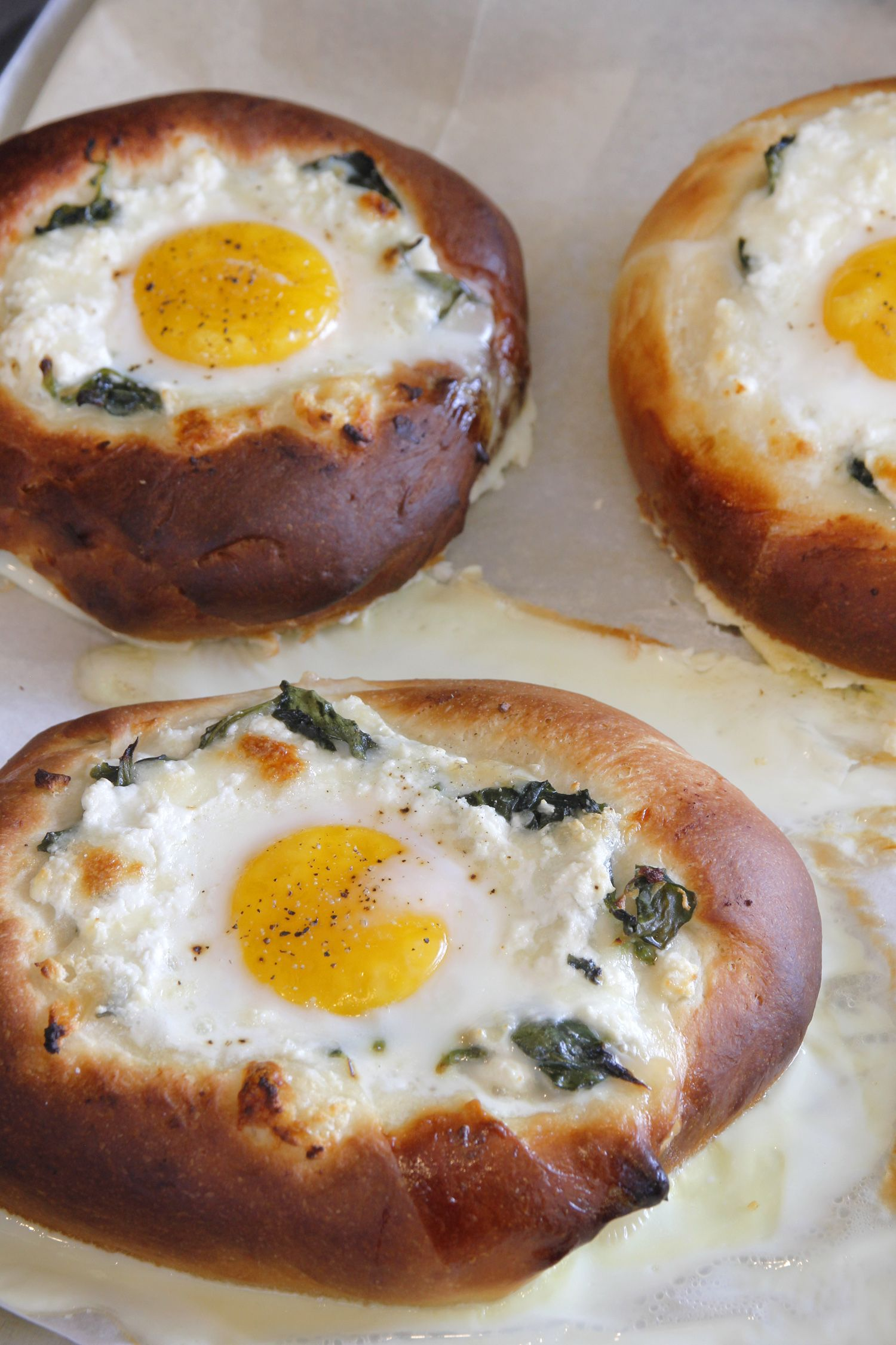 Spinach and Cheese Khachapuri