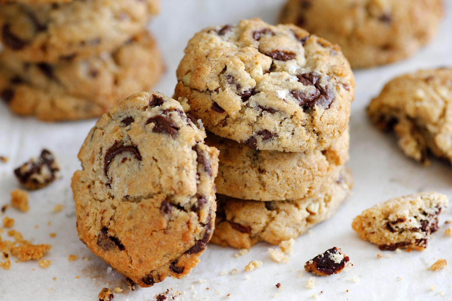 Salted Pecans Chocolate Chunk Cookies