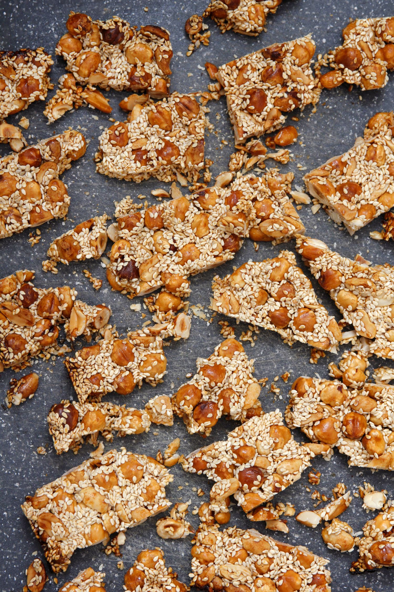 Sesame and Nut Brittle