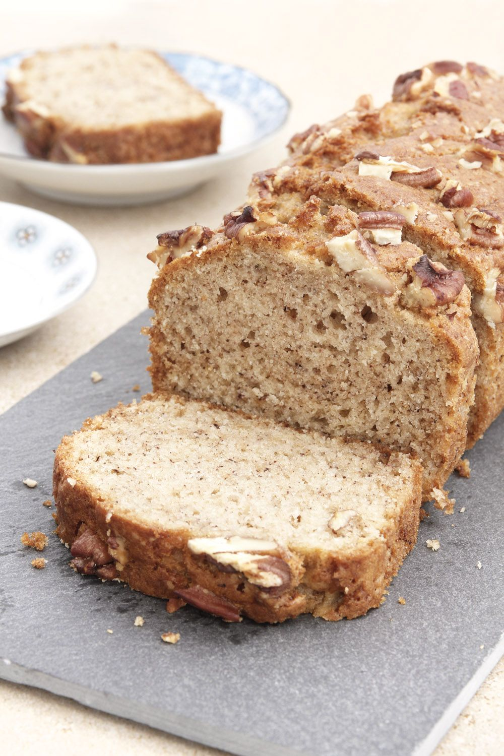 Easy Pecan Banana Bread