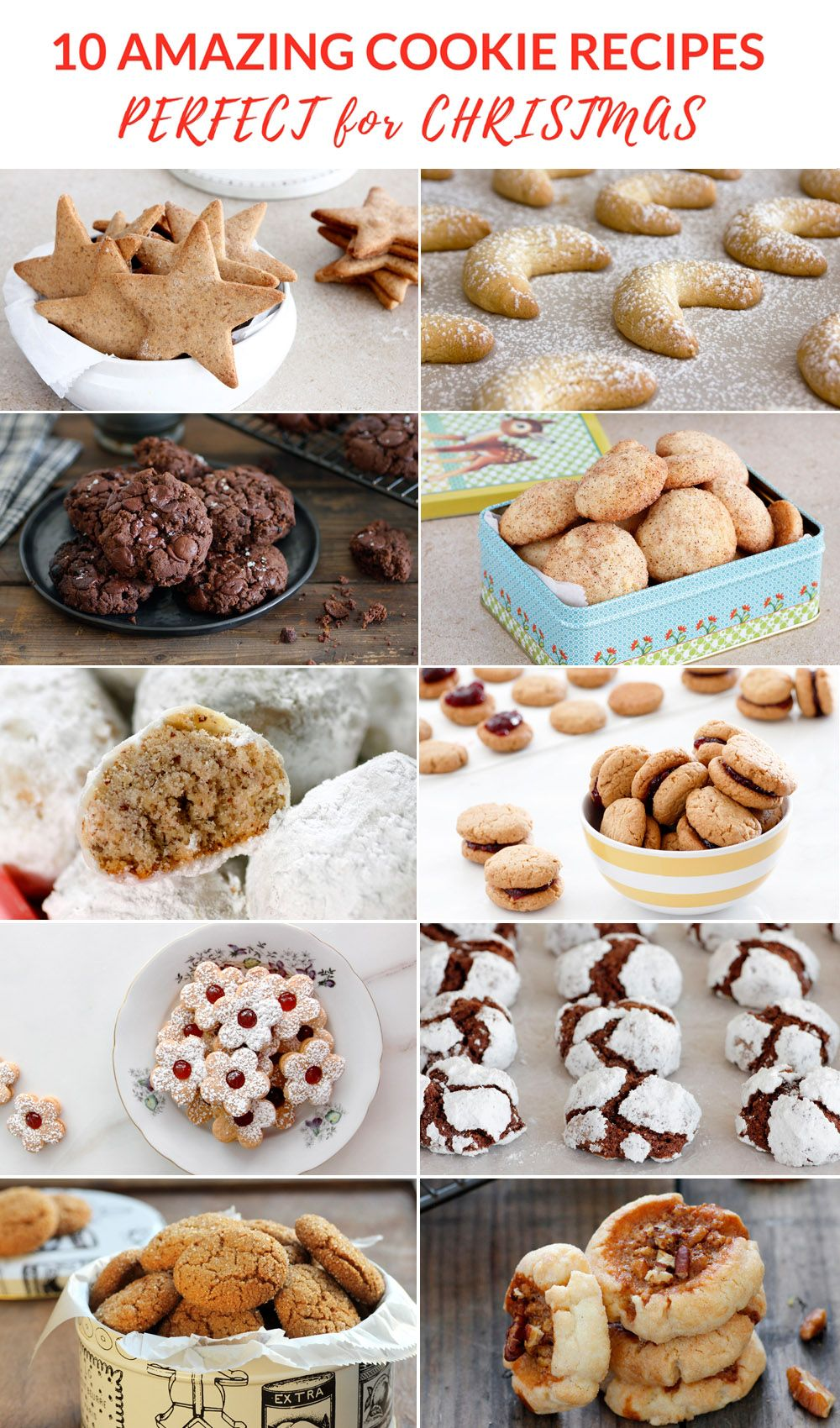 10 Amazing Cookie Recipes for Christmas