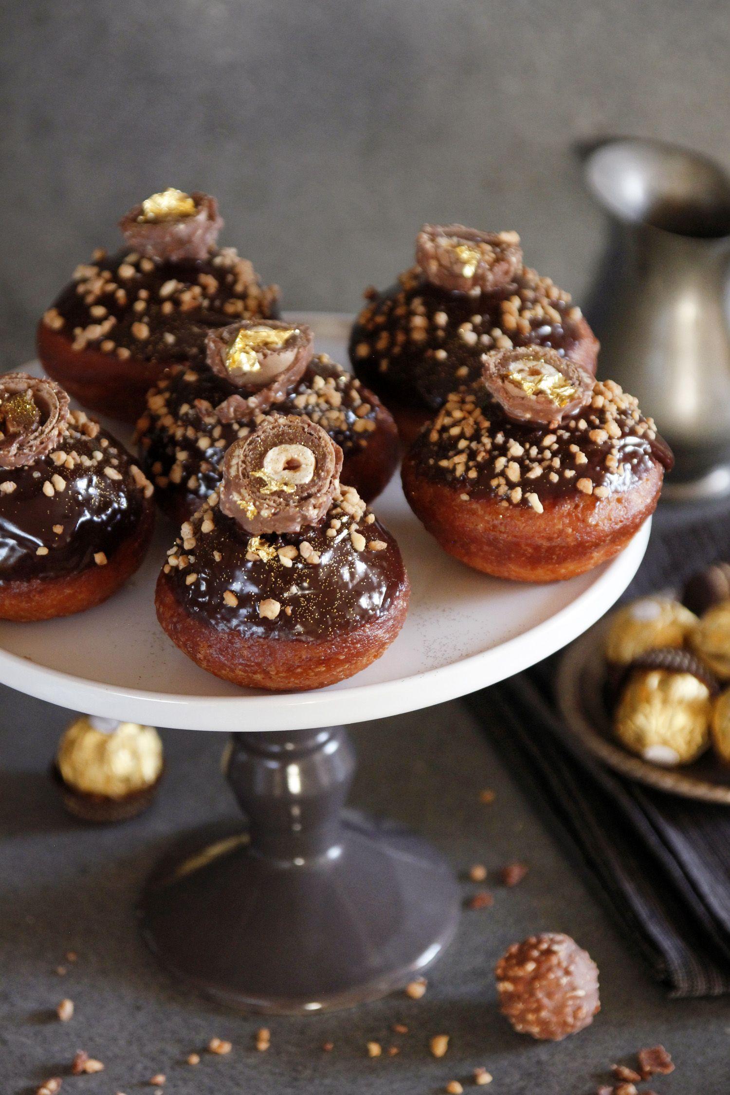 Ferrero Rocher Doughnuts