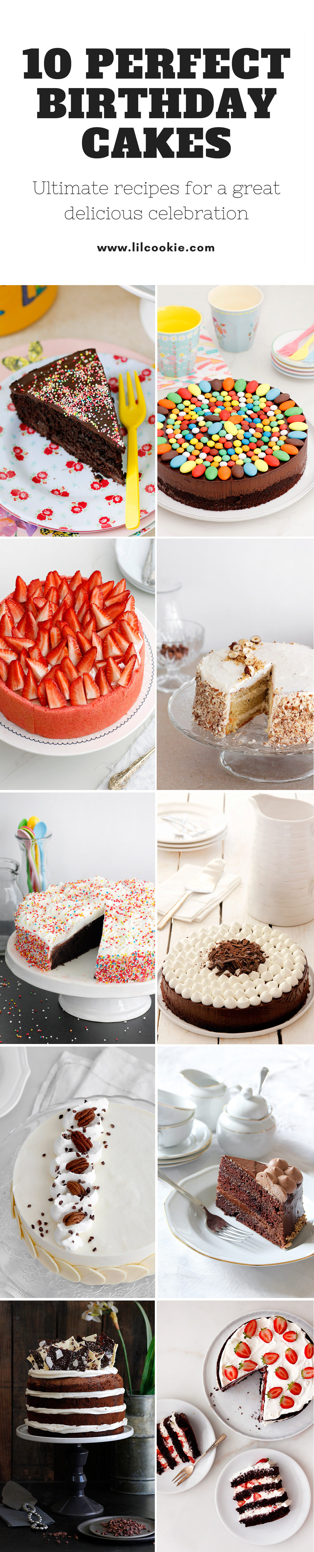 10 Perfect Birthday Cakes