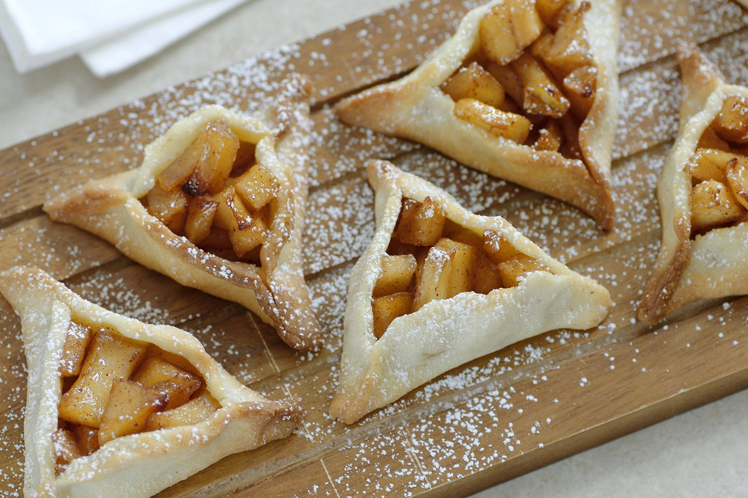 Apple Pie Hamantaschen Cookies